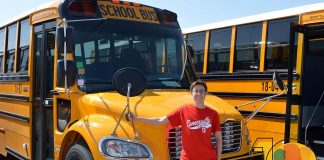 Katrina Falk, director of transportation for Shelby Eastern Schools in Indiana, wanted to be a school bus driver since she was in second grade.