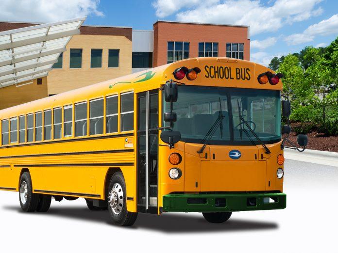 A-Z Bus_Blue Bird Electric Type D School Bus