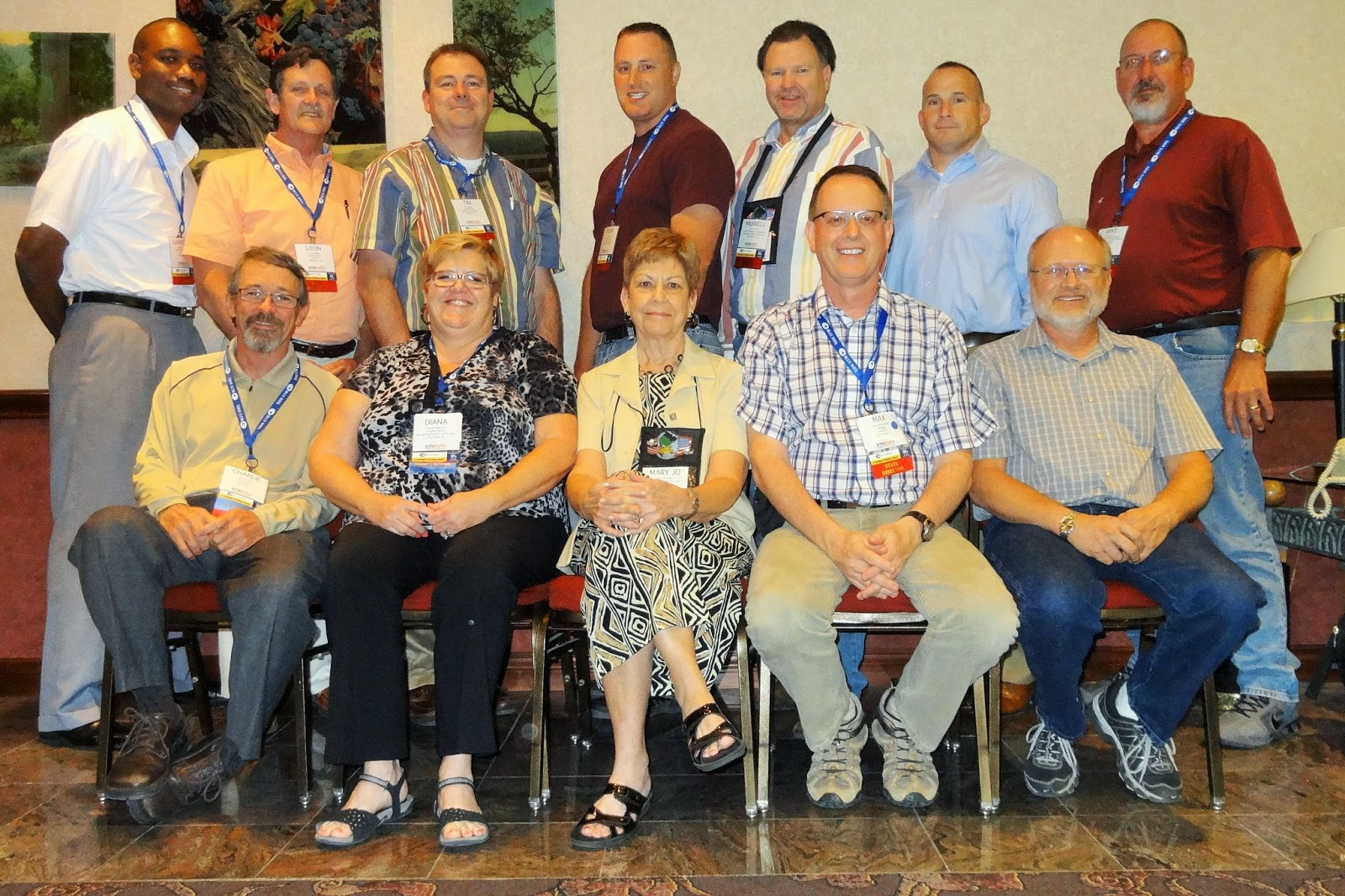 The National Association of State Directors of Pupil Transportation Services board in 2014.