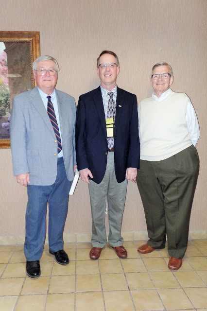 Max Christensen (middle) with Iowa state director predecessors Terry Voy and Dwight Carlson. These three represent all the state directors in Iowa since around 1980.