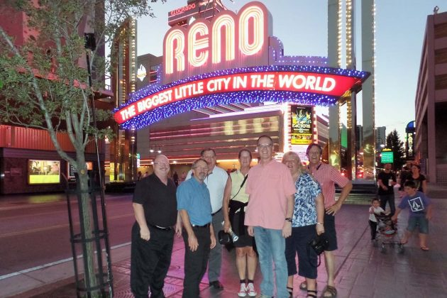 Some NASDPTS members at the Reno Arch while in town for the 2016 STN EXPO Reno.