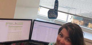 Codie Roberts CFISD Field Trip Coordinator with busHive
