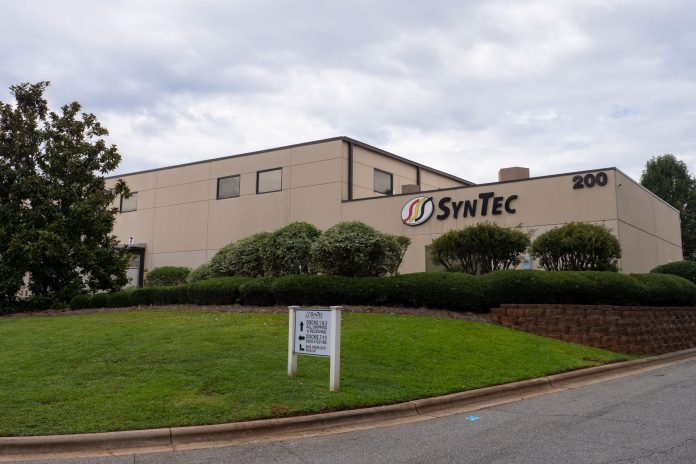 The SynTec Seating Solutions building in High Point, North Carolina.