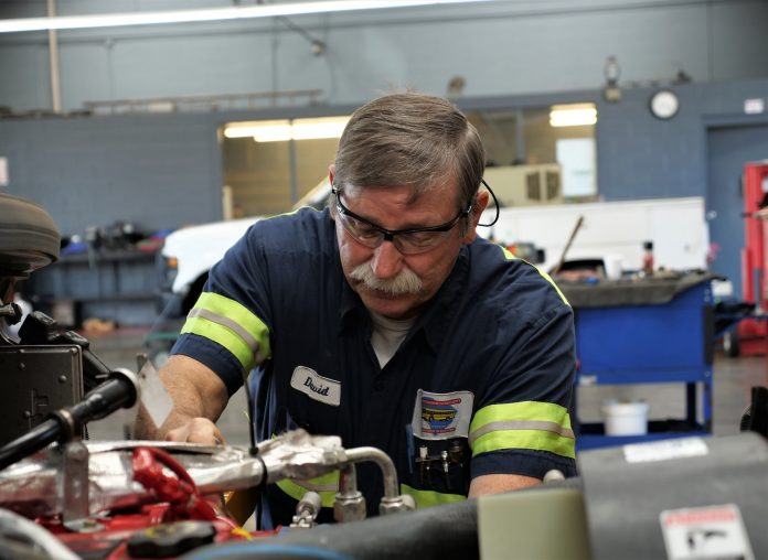 David Brewington, senior technician at the South Carolina Department of Education, said inspections and preventive maintenance schedules are two of the most important aspects of keeping fleets in working order.