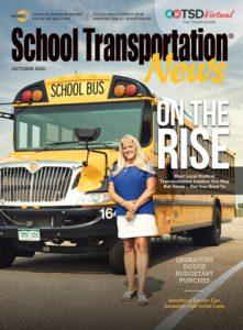 "Deb Kinemond of Cherry Creek Schools near Denver highlights this year's ""Rising Stars"" in student transportation. Photo courtesy of David Budd."
