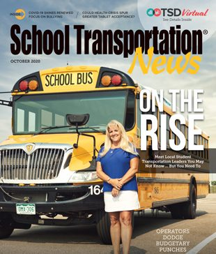 "Deb Kinemond of Cherry Creek Schools near Denver highlights this year's ""Rising Stars"" in student transportation. Photo courtesy of David Budd."