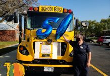 Janyce Johnson, a school bus driver for contractor Kickert School Bus Lines near Chicago, celebrated her 50th year in pupil transportation on Oct. 9, 2020.