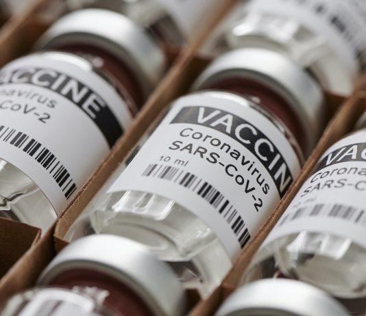 Bottles coronavirus vaccine. sars-cov-2 / COVID-19