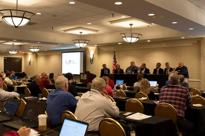 NASDPTS members listen to a panel discussion during the 2019 conference held Oct. 13-17 in Washington, D.C.