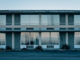 An abandoned motel in Afton, Virginia