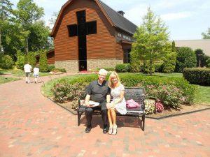 Charlie and Cynde Vits at Billy Graham library.