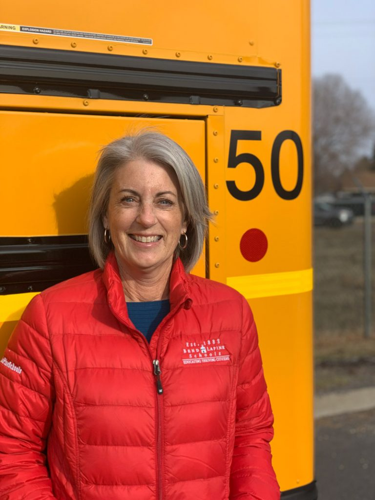 Kim Crabtree, director of transportation for Bend-La Pine School District in Oregon.