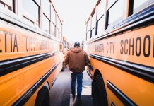 Marietta City Schools in Georgia turned to technology to increase the air quality on school buses and ridership accountability during the coronavirus pandemic. (Photo courtesy of MCS)
