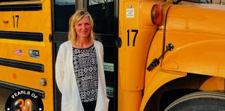 Kristy Drewitz, transportation coordinator for Madison-Grant United School Corporation in Fairmount, Indiana, is going on her 18th year in the industry.