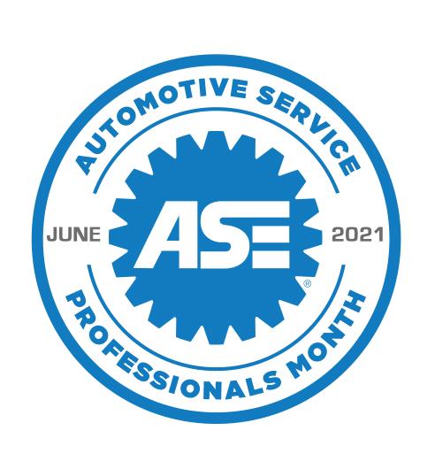Automotive Service Professionals Month logo (Image courtesy of Maximum Marketing Services Inc.)