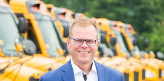 Former president and CEO of Thomas Built Buses Caley Edgerly jois one of the manufacturer's top dealers. He is assuming the role of president and CEO of Sonny Merryman Inc. (Photo Source: Sonny Merryman.)