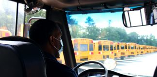 Bethlehem Central School District in New York is actively looking for ways to improve its routing to combat the school bus driver shortage. (Photo courtesy of Karim Johnson.)